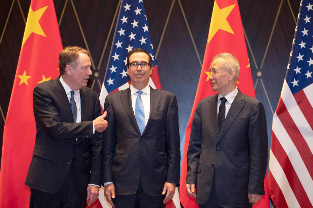 """US-China Phase One deal reached """"in principle"""""""