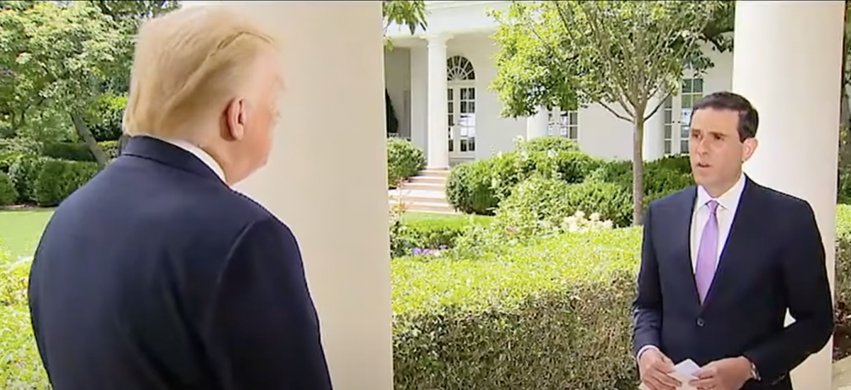 One-on-One with Trump